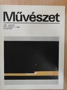 Cifka Péterné - Művészet 1983. január [antikvár]