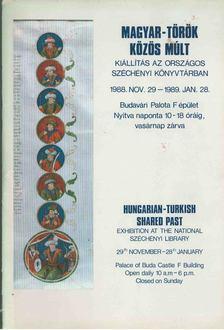 Hazai György - Magyar-török közös múlt [antikvár]