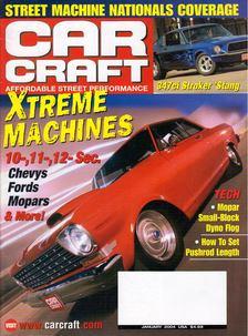 Jeff Smith - Car Craft 2004 January [antikvár]