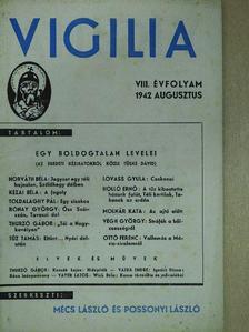 Holló Ernő - Vigilia 1942. augusztus [antikvár]