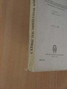 Bognár Rezső - A Magyar Tudományos Akadémia Kémiai Tudományok Osztályának Közleményei 1952/1-4. [antikvár]