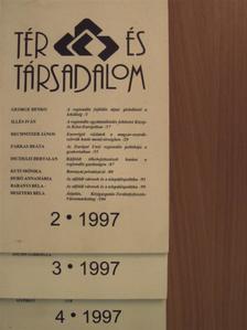 Diczházi Bertalan - Tér és Társadalom 1997. (nem teljes évfolyam) [antikvár]