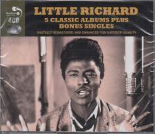 LITTLE RICHARD - LITTLE RICHARD 4CD 5 CLASSICAL ALBUM