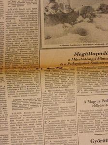 Dunai Károly - Pedagógusok Lapja 1966. (nem teljes évfolyam) [antikvár]