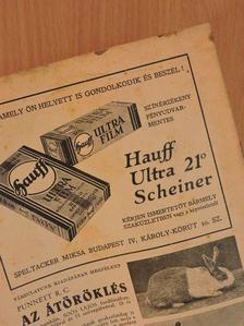 Aujeszky Aladár - Természettudományi Közlöny 1931. március 15. [antikvár]