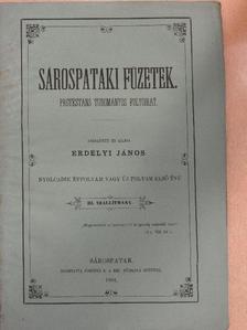 D. E. P. - Sárospataki Füzetek 1864/III. [antikvár]