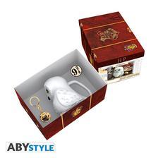 Abysse Europa Kft. - HARRY POTTER - Ajándékcsomag Hedwig 3D bögre, kitűző, cikesz kulcstartó