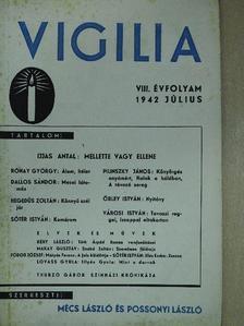 Dallos Sándor - Vigilia 1942. július [antikvár]