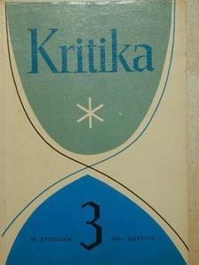 Barta János - Kritika 1964. március [antikvár]