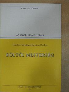 Catullus - Költői mesterség [antikvár]