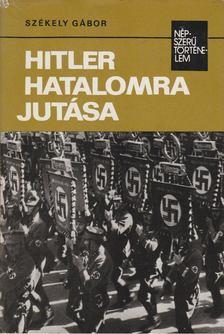Székely Gábor - Hitler hatalomra jutása [antikvár]