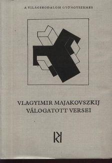 Rózsa Endre - Vlagyimir Majakovszkij válogatott versei [antikvár]