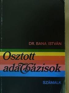 Dr. Barna István - Osztott adatbázisok [antikvár]