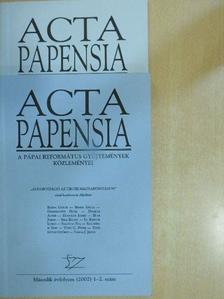 Barna Gábor - Acta Papensia 2002/1-4. szám [antikvár]