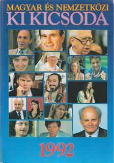 Hermann Péter - Magyar és nemzetközi ki kicsoda 1992 [antikvár]