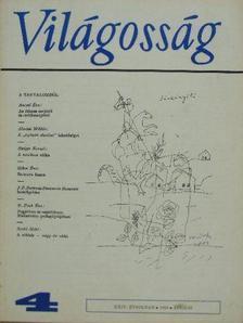 Almási Miklós - Világosság 1983. április [antikvár]