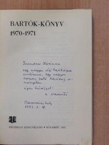 Alexits György - Bartók-könyv (dedikált példány) [antikvár]