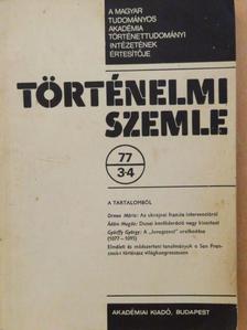Ádám Magda - Történelmi Szemle 1977/3-4. [antikvár]