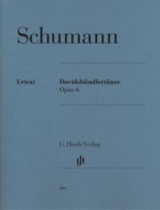 Schumann, Robert - DAVIDSBÜNDLERTAENZE OP.6 FÜR KLAVIER URTEXT (HERTTRICH / THEOPOLD)