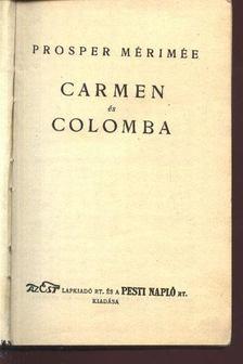 Prosper Mérimée - Carmen és Colomba [antikvár]