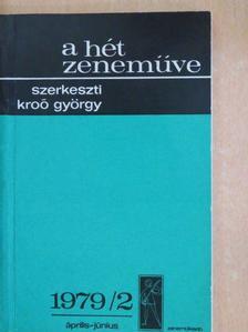 Boronkay Antal - A hét zeneműve 1979/2. [antikvár]