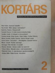 Csukás István - Kortárs 1976. február [antikvár]