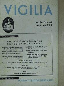 Francois Villon - Vigilia 1940. május [antikvár]