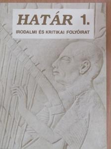 Csobó Péter - Határ 1992. január [antikvár]