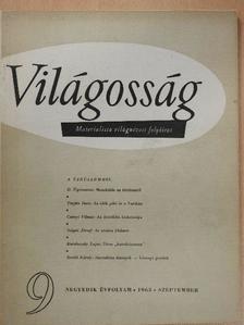Bellér Béla - Világosság 1963. szeptember [antikvár]