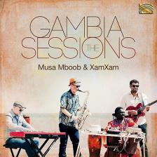 THE GAMBIA SESSIONS CD MUSA MBOOB & XAMXAM