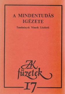 Szegedy-Maszák Mihály - A mindentudás igézete [antikvár]