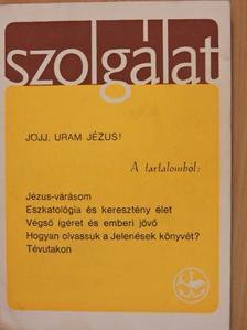 Békés Gellért - Szolgálat 1983. Karácsony [antikvár]