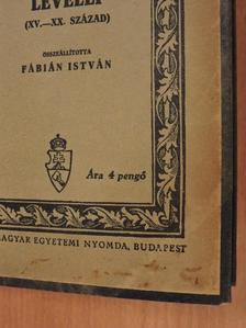 Csokonai Vitéz Mihály - Magyar írók levelei [antikvár]