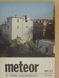 Babcsán Gábor - Meteor 1989/12. [antikvár]