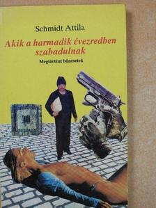 Schmidt Attila - Akik a harmadik évezredben szabadulnak [antikvár]