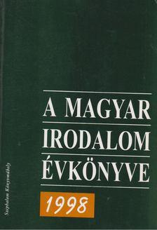 Buda Attila - A magyar irodalom évkönyve 1998 [antikvár]