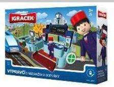 22121 - IGRÁÈEK Vasúti irányítóállomás vasutassal