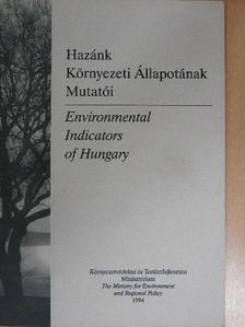 Dr. Böginé Kövesdi Erzsébet - Hazánk Környezeti Állapotának Mutatói [antikvár]
