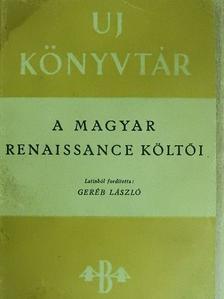 Bocatius János - A magyar renaissance költői [antikvár]
