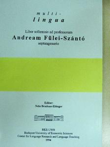 Blaskó József - Liber sollemnis ad professorem Andream Fülei-Szántó septuagenario [antikvár]