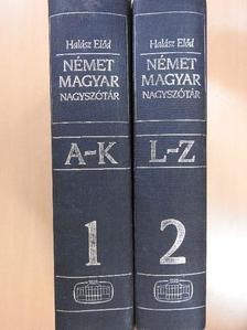 Halász Előd - Német-magyar nagyszótár I-II. [antikvár]