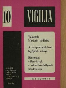 Barsy Irma - Vigilia 1967. október [antikvár]