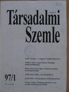 Almási Miklós - Társadalmi Szemle 1997. január-december [antikvár]