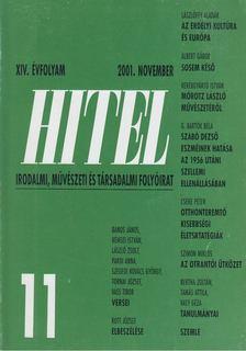 Csoóri Sándor - Hitel 2001. november [antikvár]