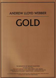 WEBBER ANDREW LLOYD - ANDREW LLOYD WEBBER - GOLD FOR PIANO, VOCAL AND GUITAR