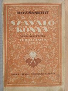 Kemenes Ferenc - Rózsáskert szavalókönyv [antikvár]