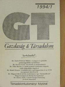 Alaa Aldin Said Essa - Gazdaság & Társadalom 1994/1. [antikvár]
