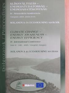 Böszörményi Gábor - Klímaváltozás - Energiatudatosság - Energiahatékonyság Konferencia dolgozatok [antikvár]
