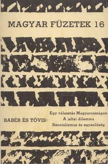KENDE PÉTER - Magyar füzetek 16. [antikvár]