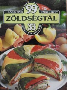 Hemző Károly - 99 zöldségtál 33 színes ételfotóval [antikvár]